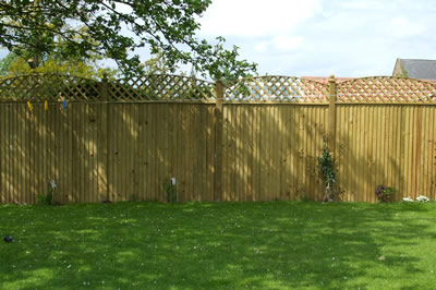 Featherboard Fencing Sandalwood Gates And Timber